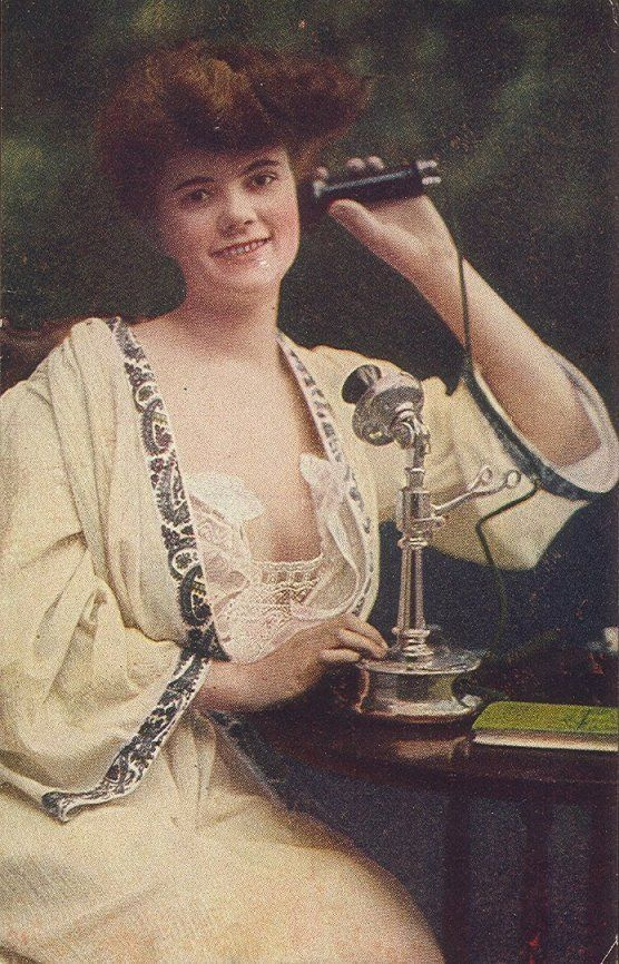 Candlestick Telephone Gal